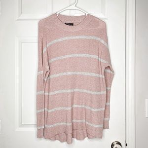 American Eagle jegging fit striped sweater